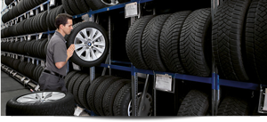 Orillia Tire Storage
